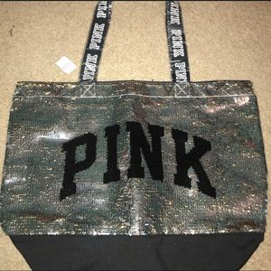 Sparkle PINK Tote